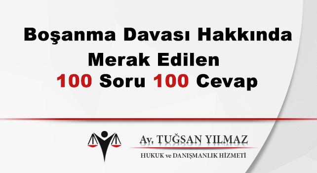 boşanma avukatı 100 soru 100 cevap